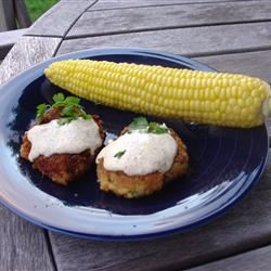 Perfect Crab Cakes With Green Onions Huge