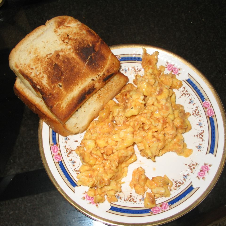 Savory Scrambled Eggs SCARYBERRY