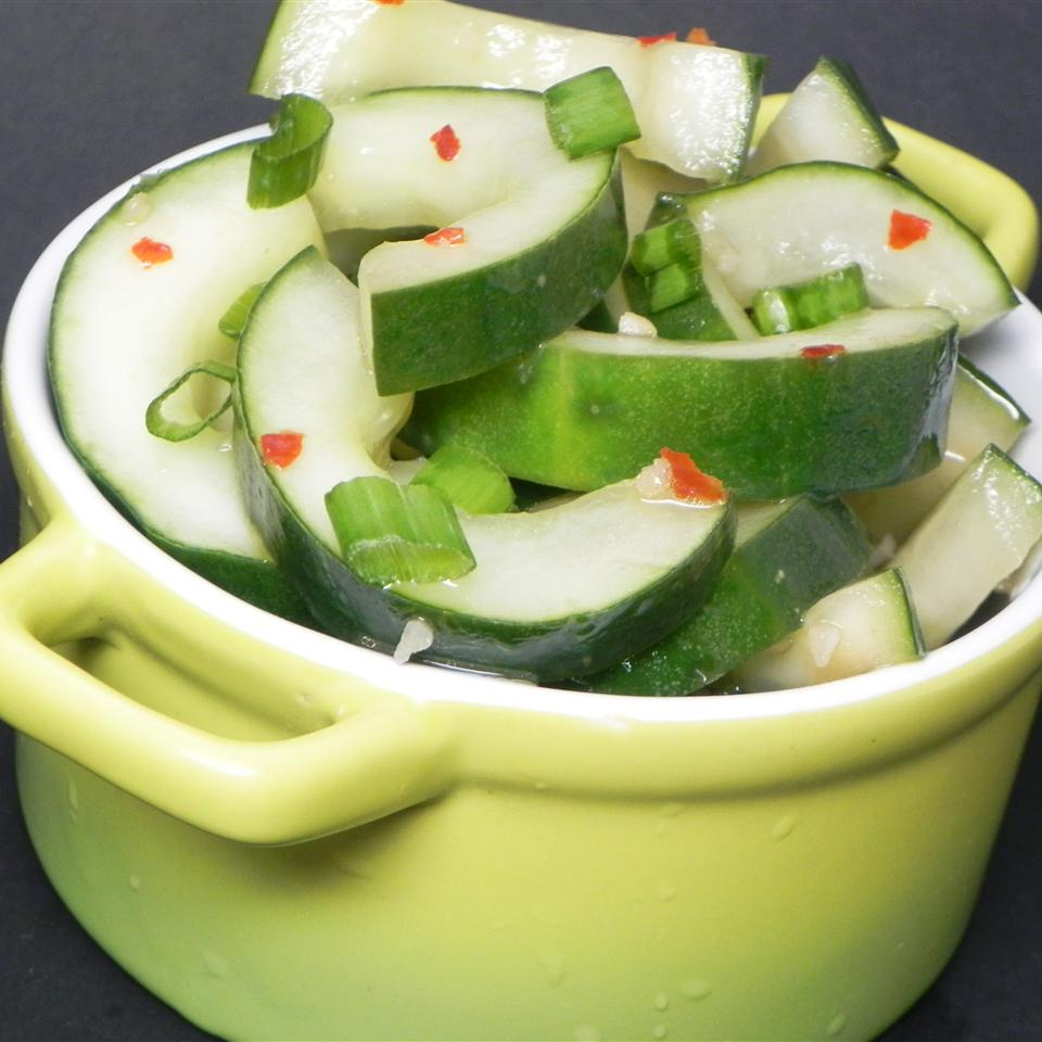 Spicy Asian Cucumbers Soup Loving Nicole