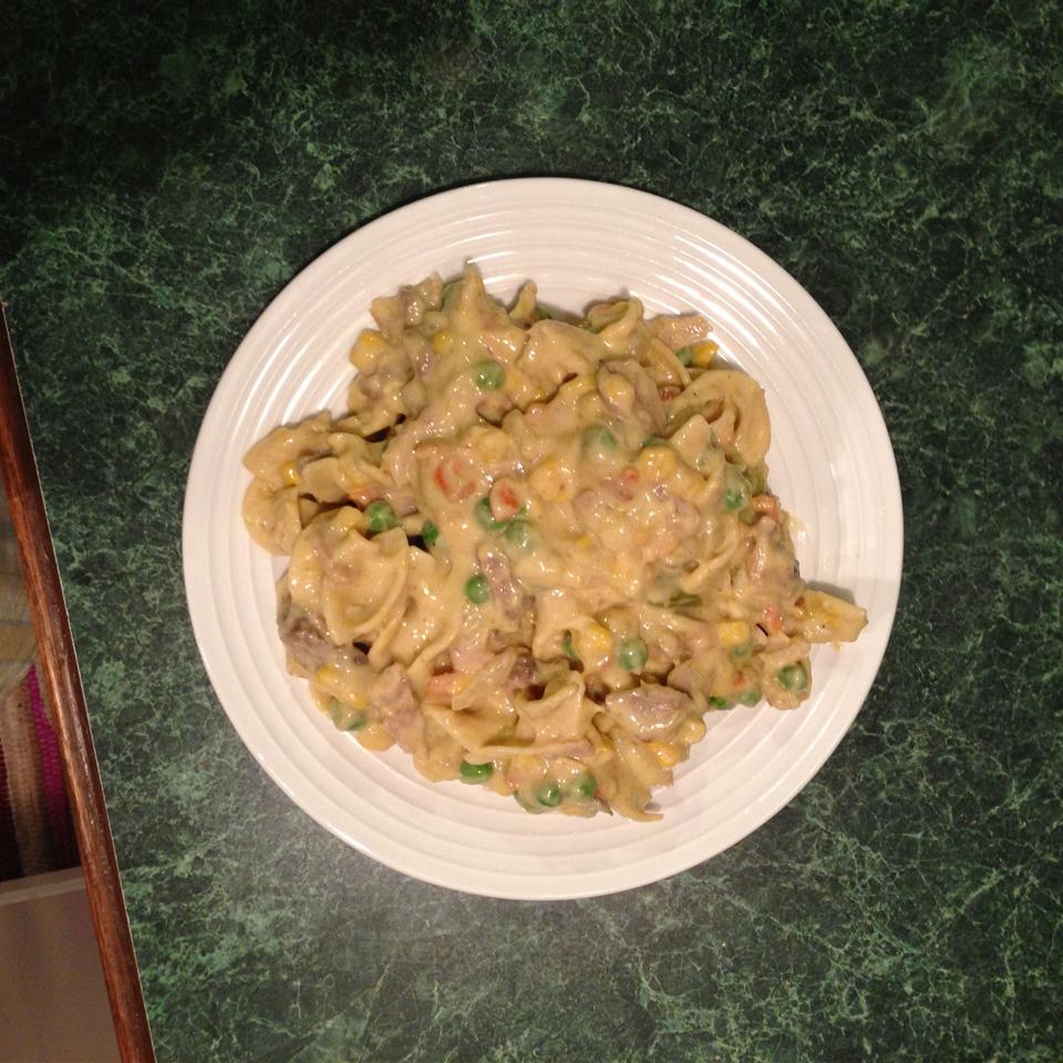 Yummy Pork Noodle Casserole