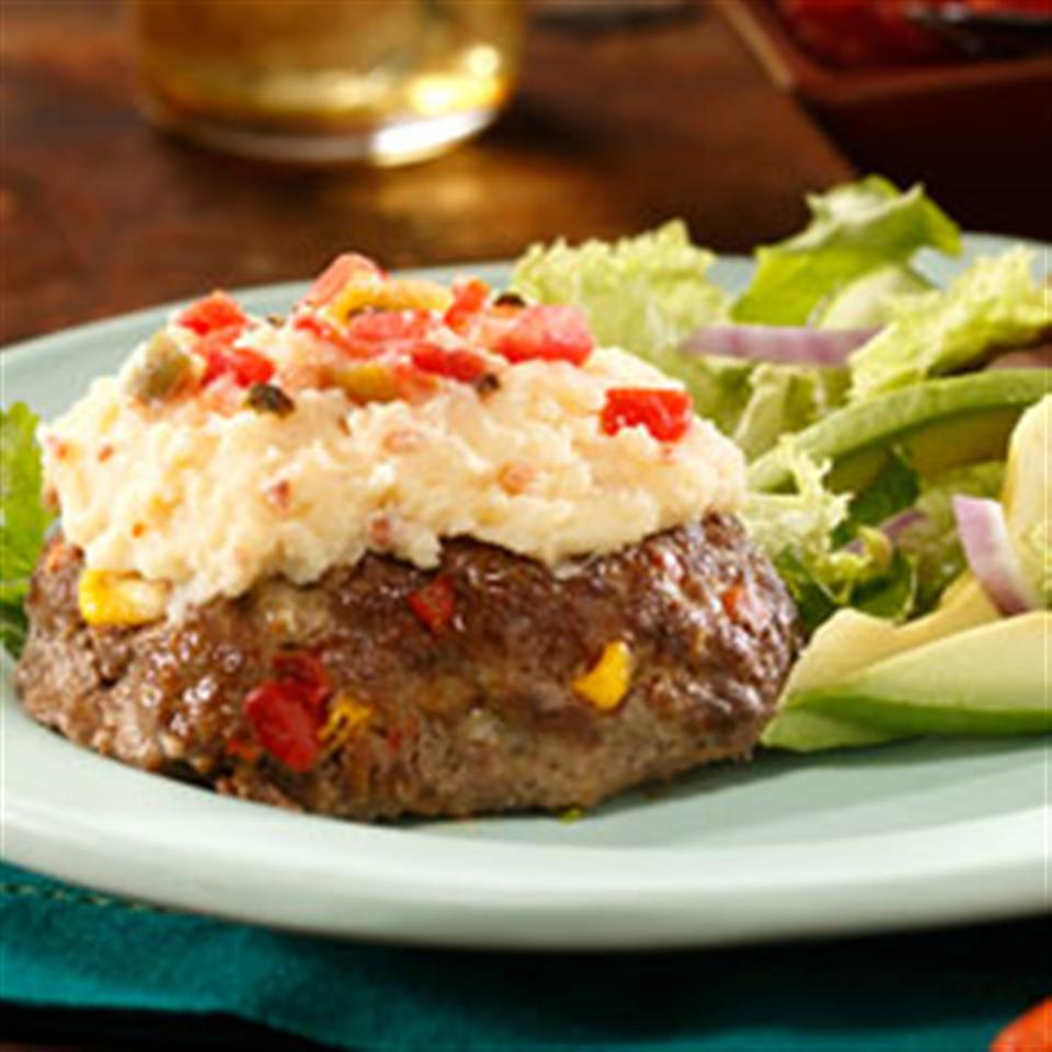 South of the Border Mashed Potatoes Meatloaf Trusted Brands