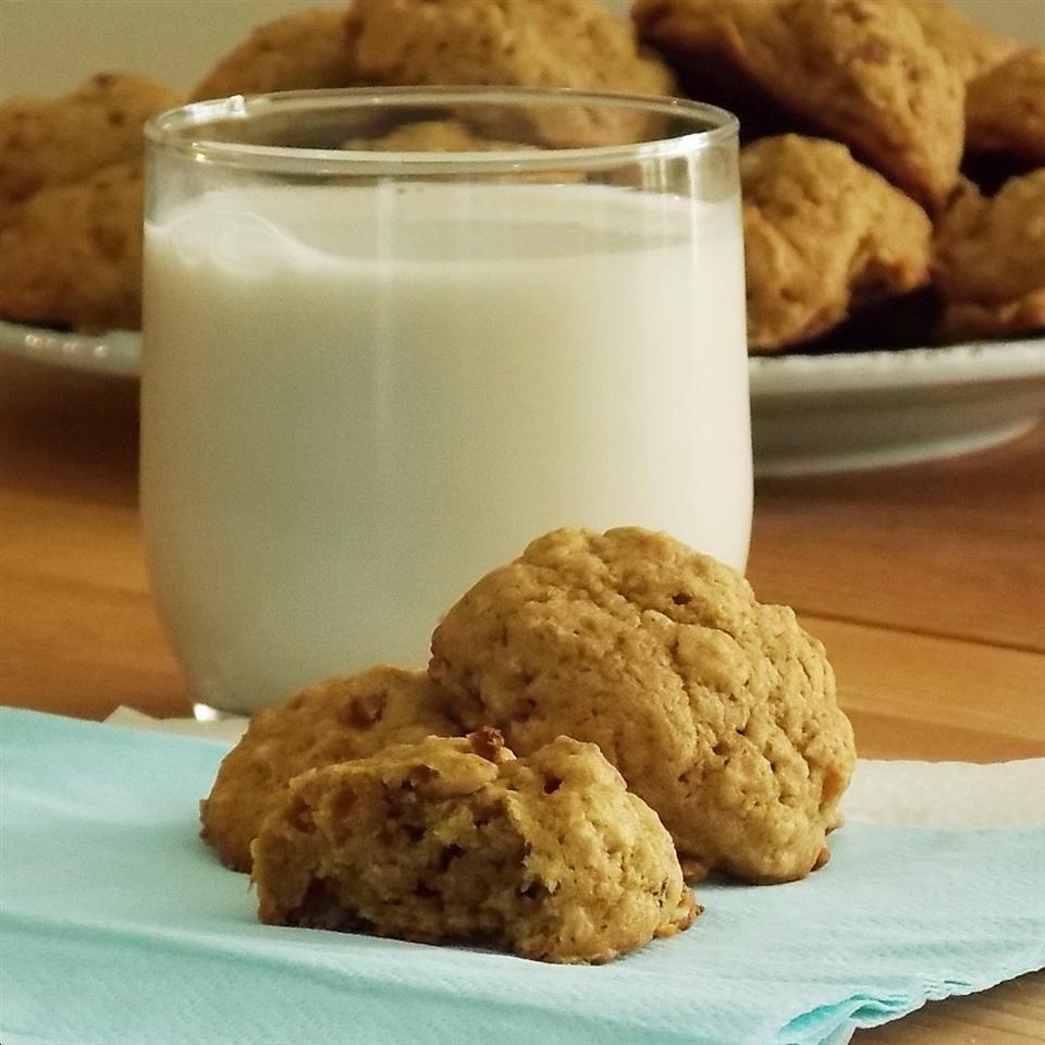 Harvest Pumpkin-Oatmeal Raisin Cookies Grumpy's Honeybunch