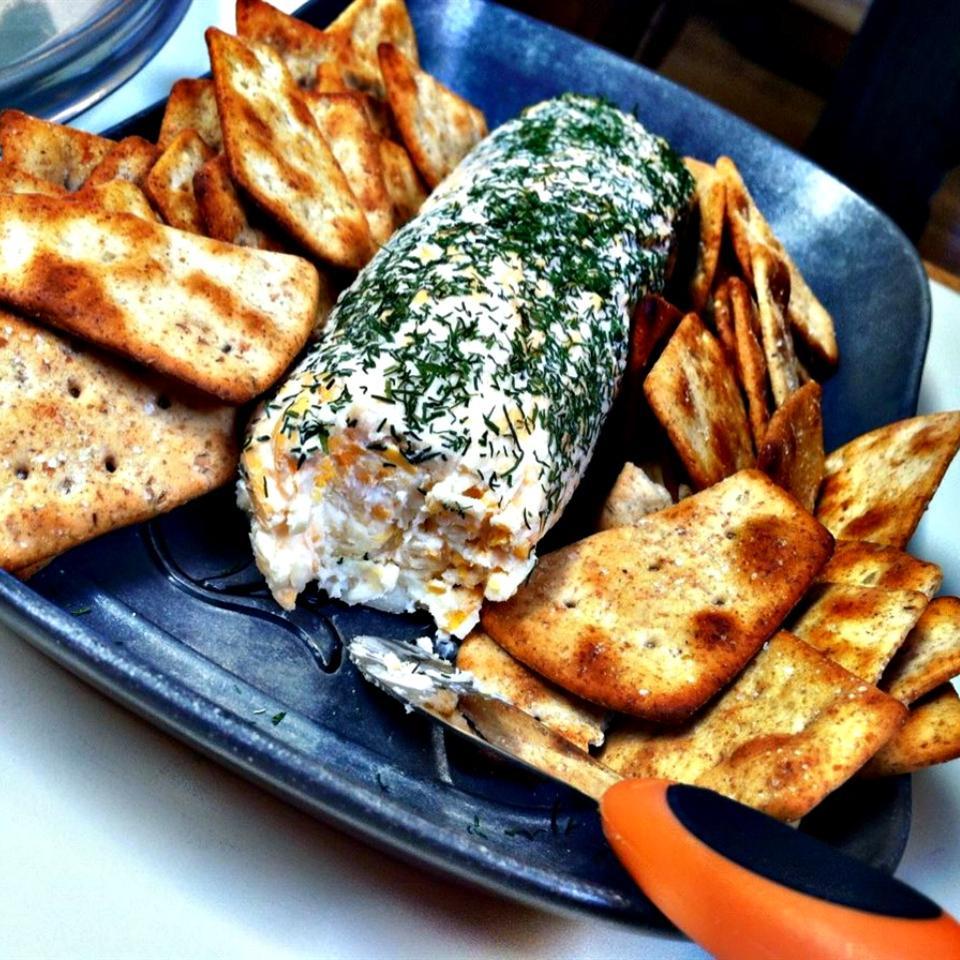Garlic Cheese Logs