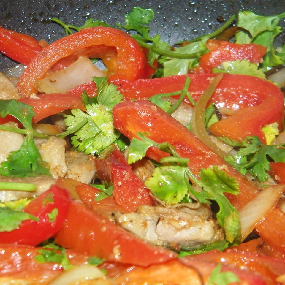Cilantro and Pork Stir Fry Seattle2Sydney