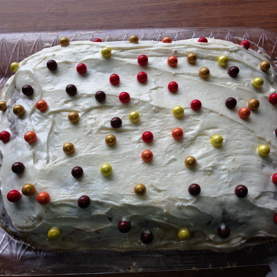 Pumpkin Pie Cake with Yellow Cake Mix