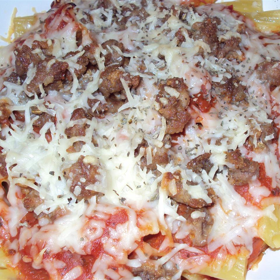 Johnsonville Italian Sausage Rigatoni Liz Dalton 'Lizzie'