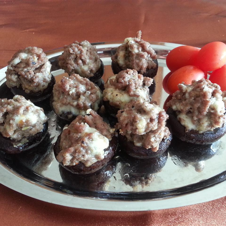 Sausage Stuffed Mushrooms Liz Dalton 'Lizzie'