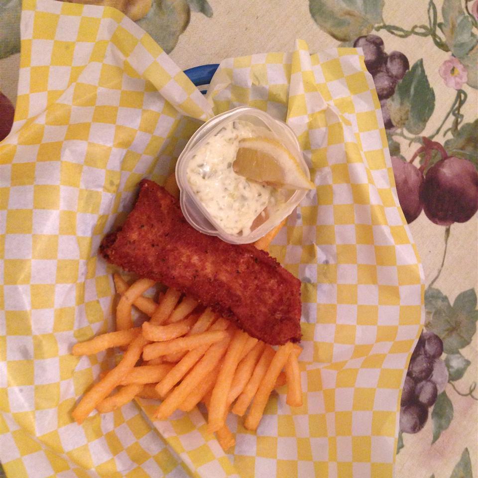 Fish and Chips Gina