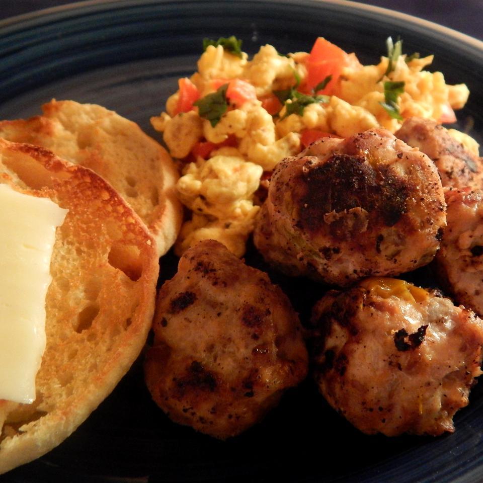 Spicy Breakfast Meatballs