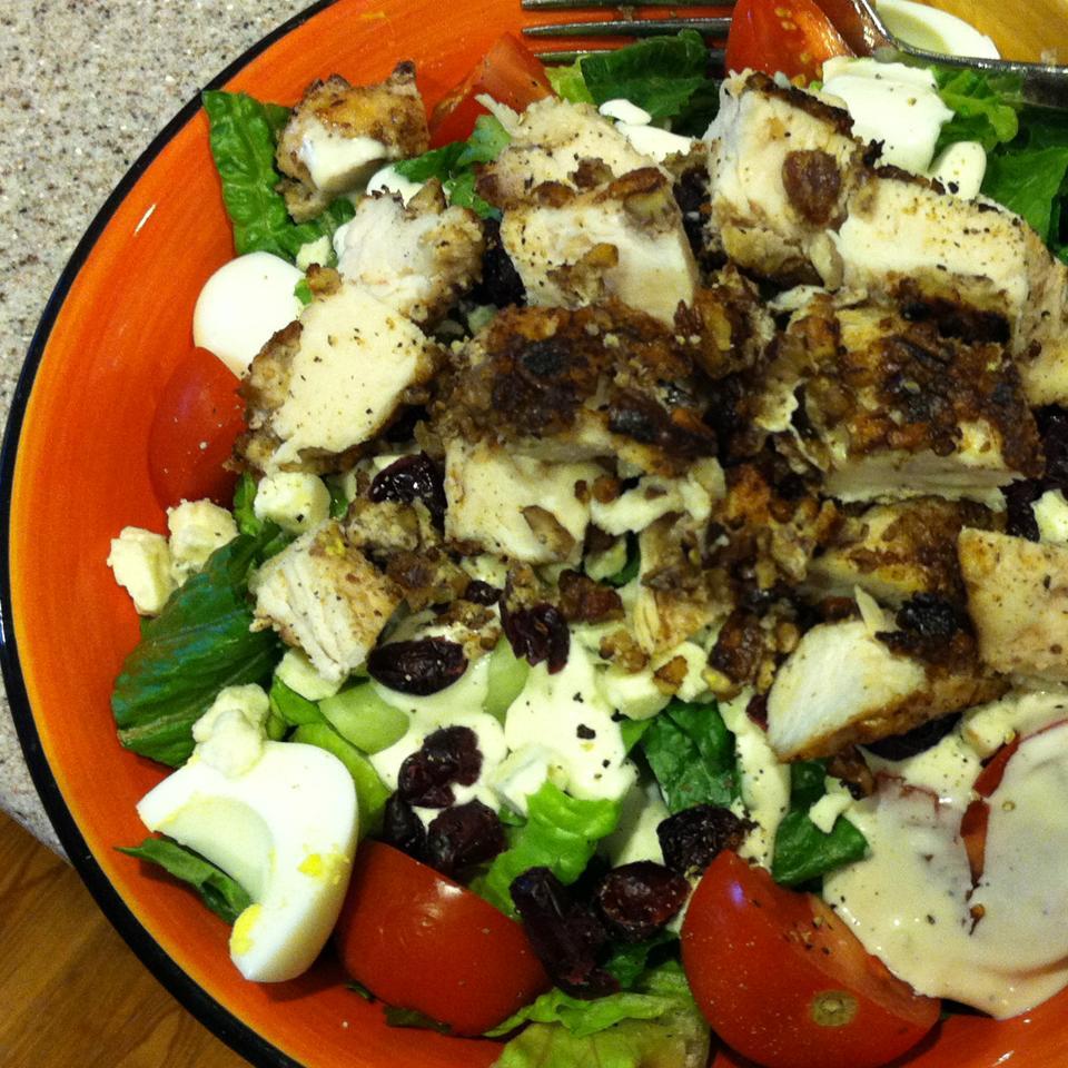 Pecan Crusted Chicken Salad ilovefood