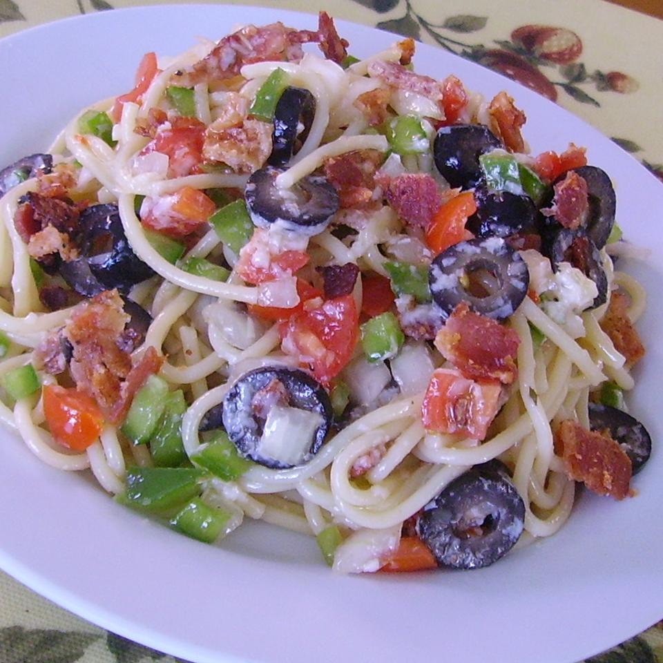 Sharese's Spaghetti Salad Christina