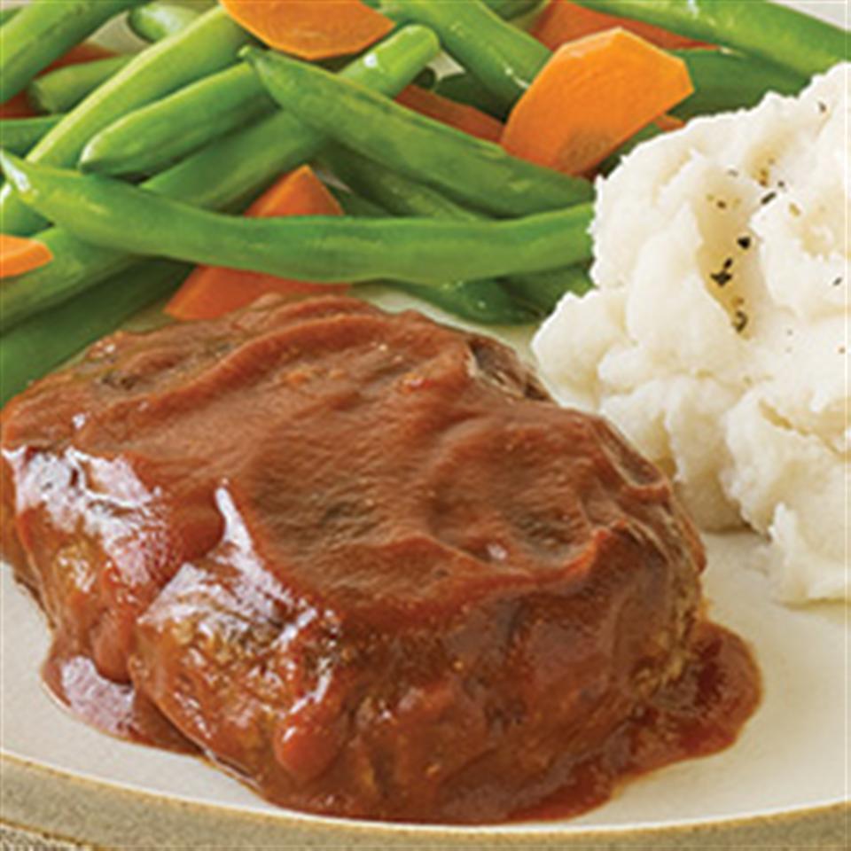 Contadina® Mini Meatloaves with Tomato Glaze