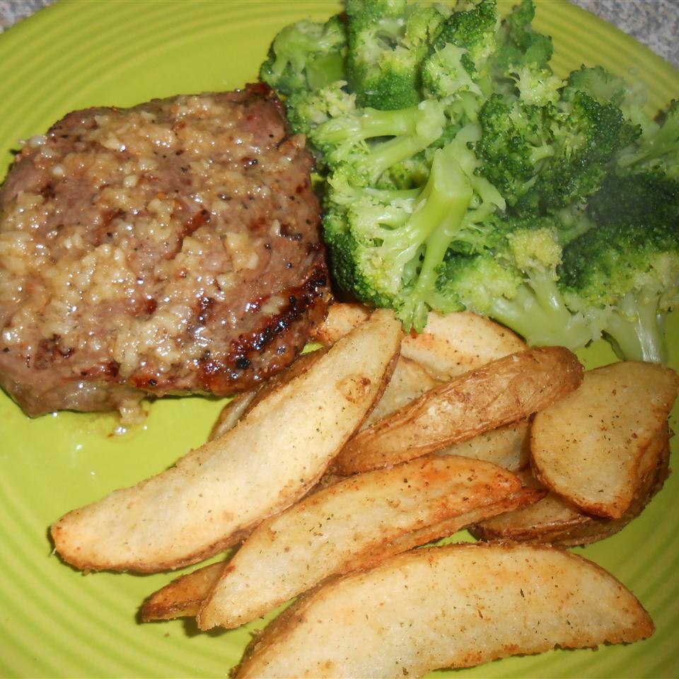 Sirloin Steak with Garlic Butter RainbowJewels