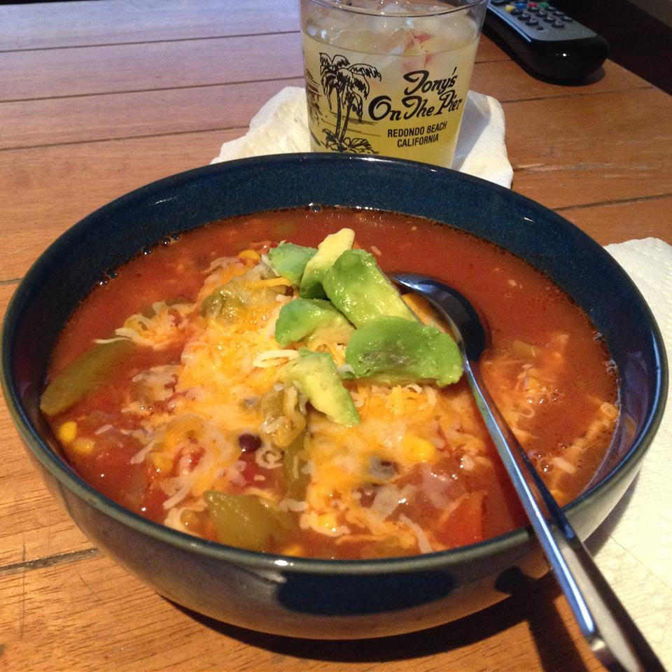 Vegetarian Tortilla Soup ShannonB515