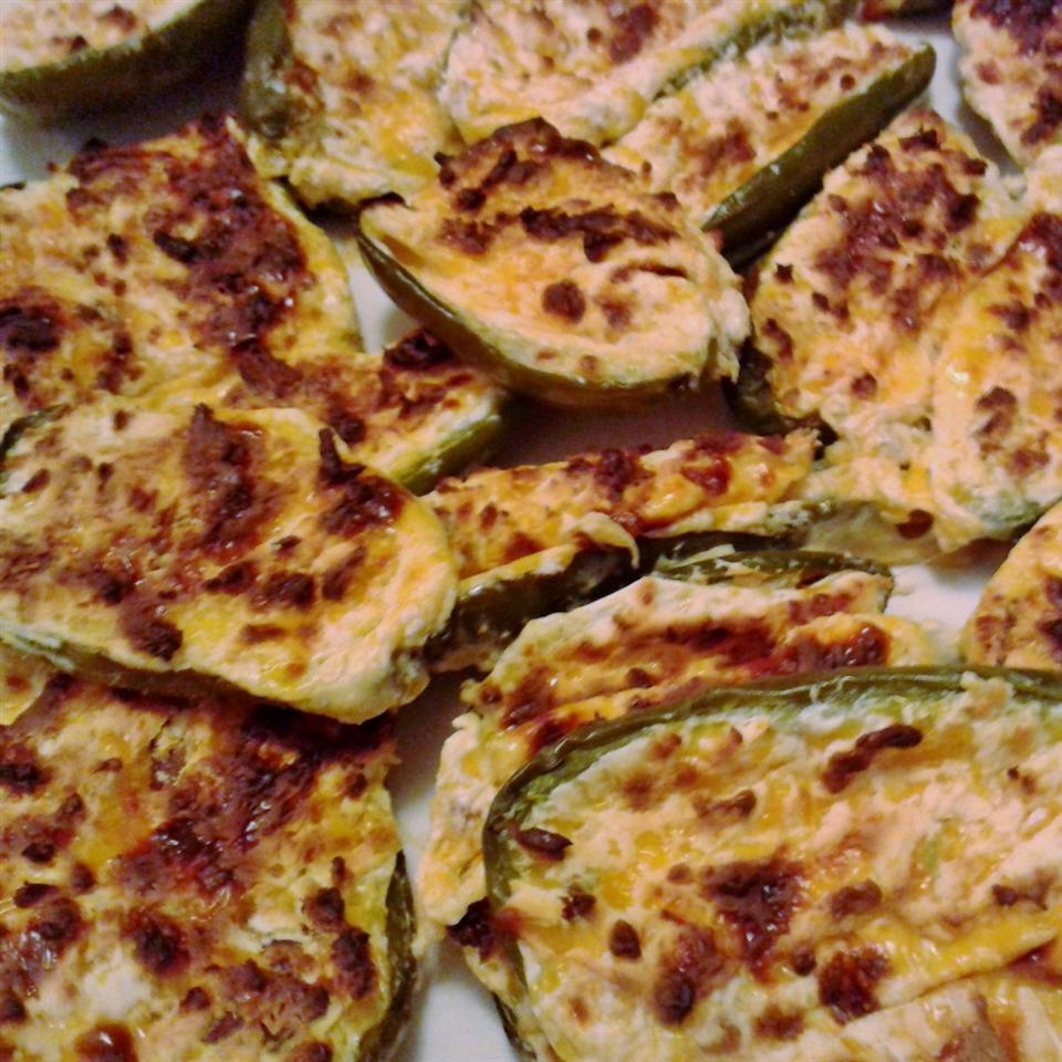 Cheese and Bacon Jalapeno Rellenos