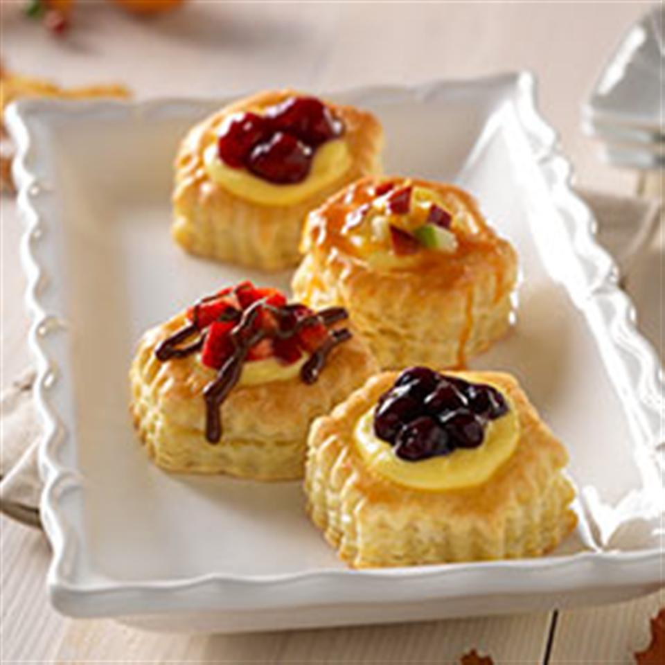 Caramel Apple Mini Cheesecakes Trusted Brands