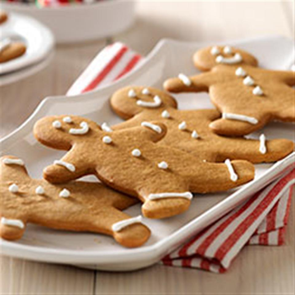 Gingerbread People from JELL-O