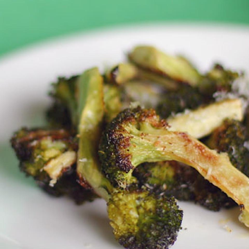 Oven-Roasted Broccoli in Foil