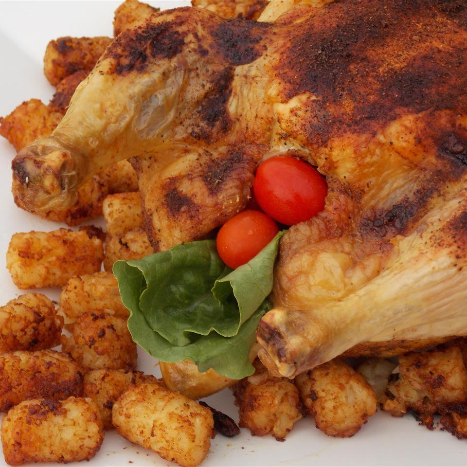 Roast Chicken with Curry Paste Nadine