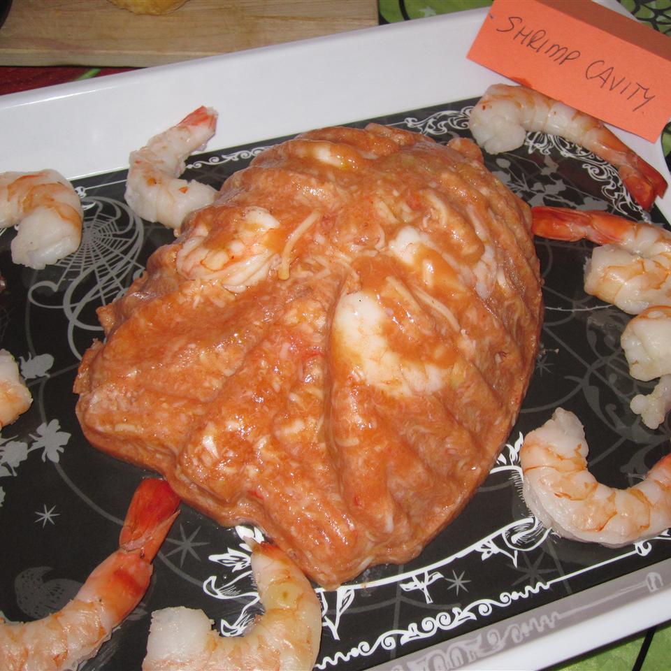 Halloween Shrimp Cocktail Brain ikkoulik