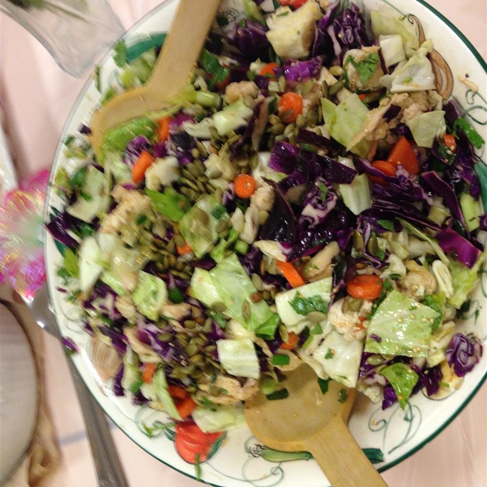 Amazing Asian Chicken Salad cmethod