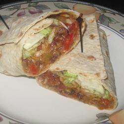 Black Bean and Artichoke Burritos Chef4Six