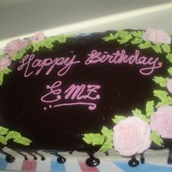 Black Chocolate Cake 3hschef