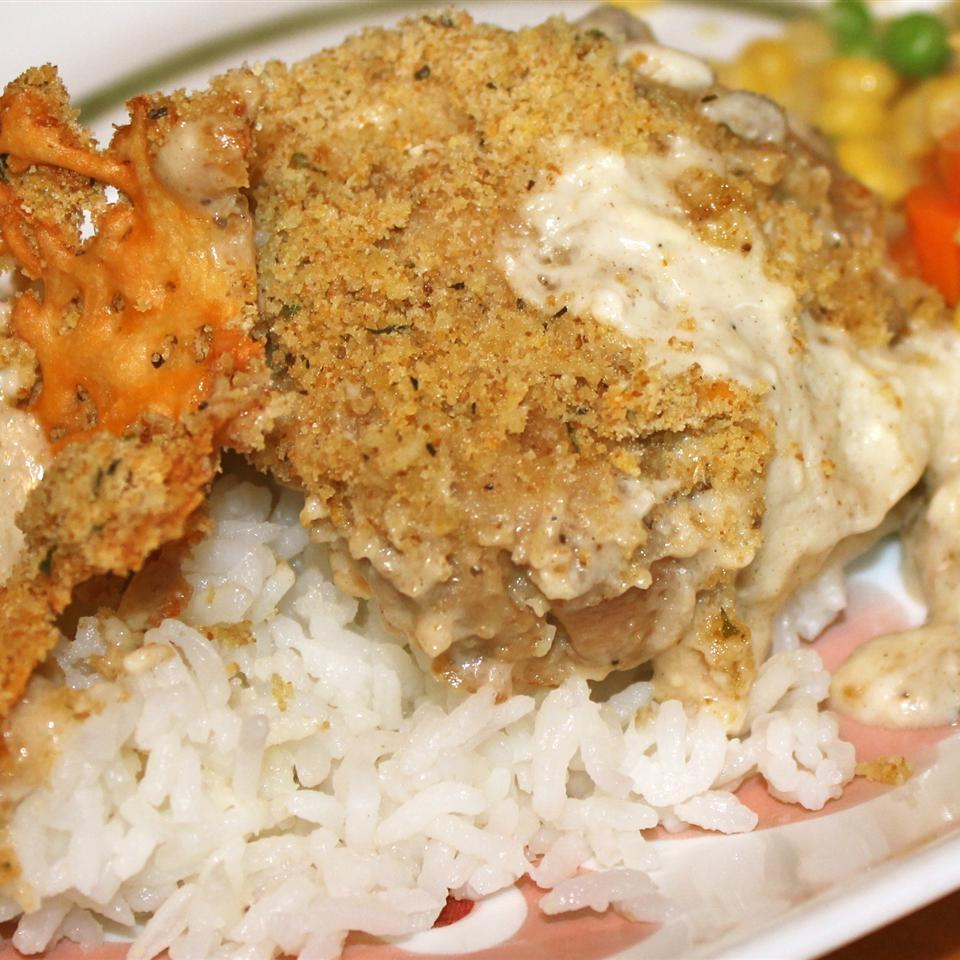 Creamy Garlic Mushroom Chicken Allie
