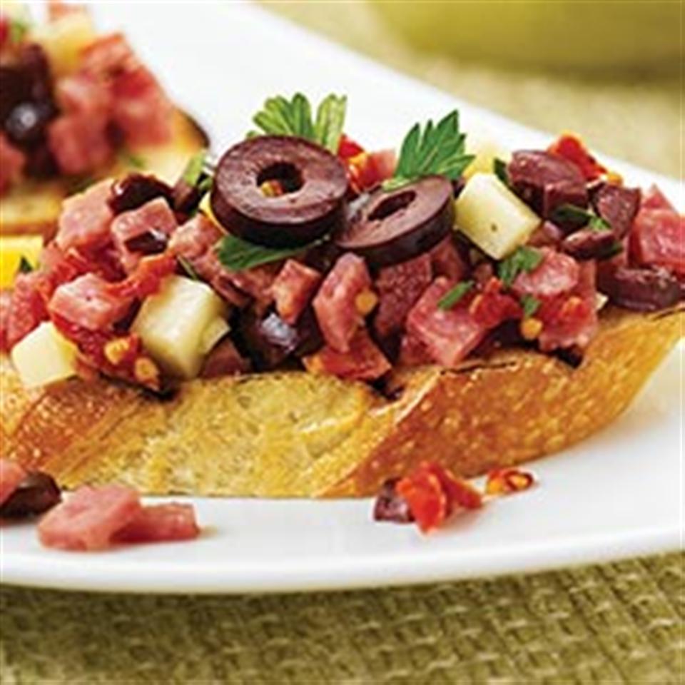 Margherita® Sun-Dried Tomato and Salami Bruschetta Trusted Brands