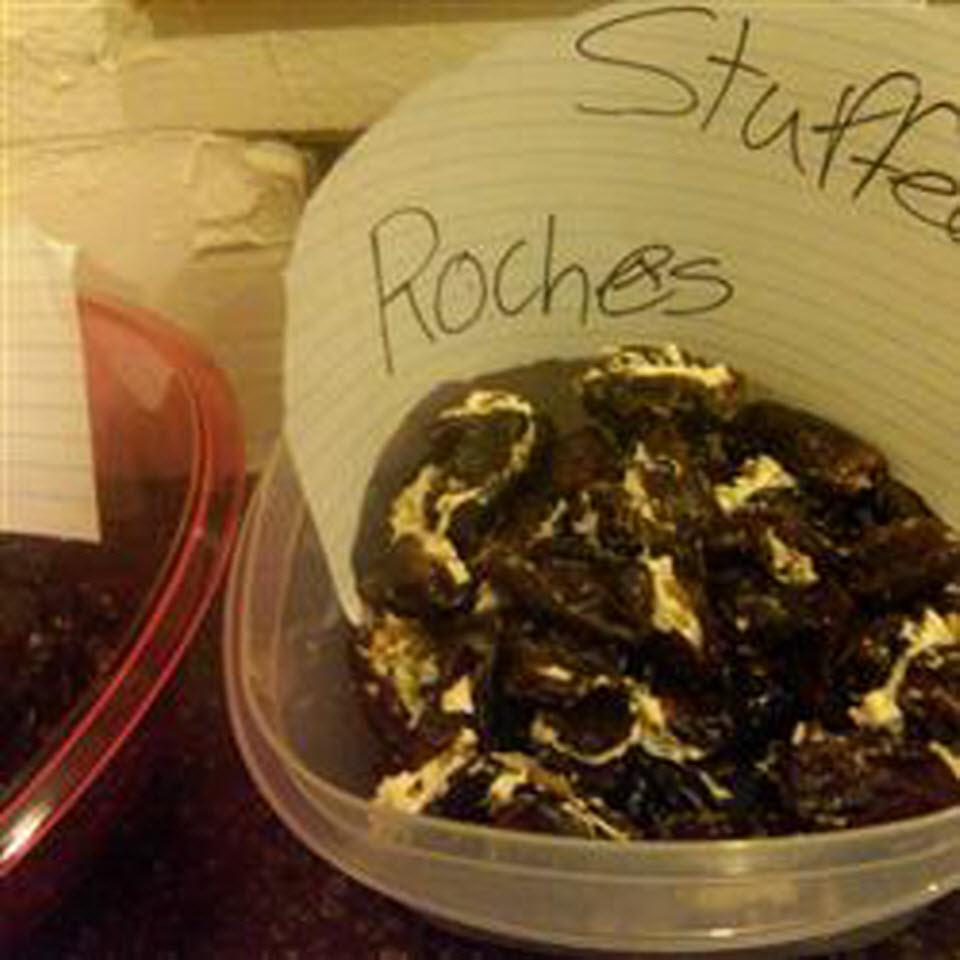 Stuffed Roaches (Halloween Appetizer With Dates) Deborah McCarthy