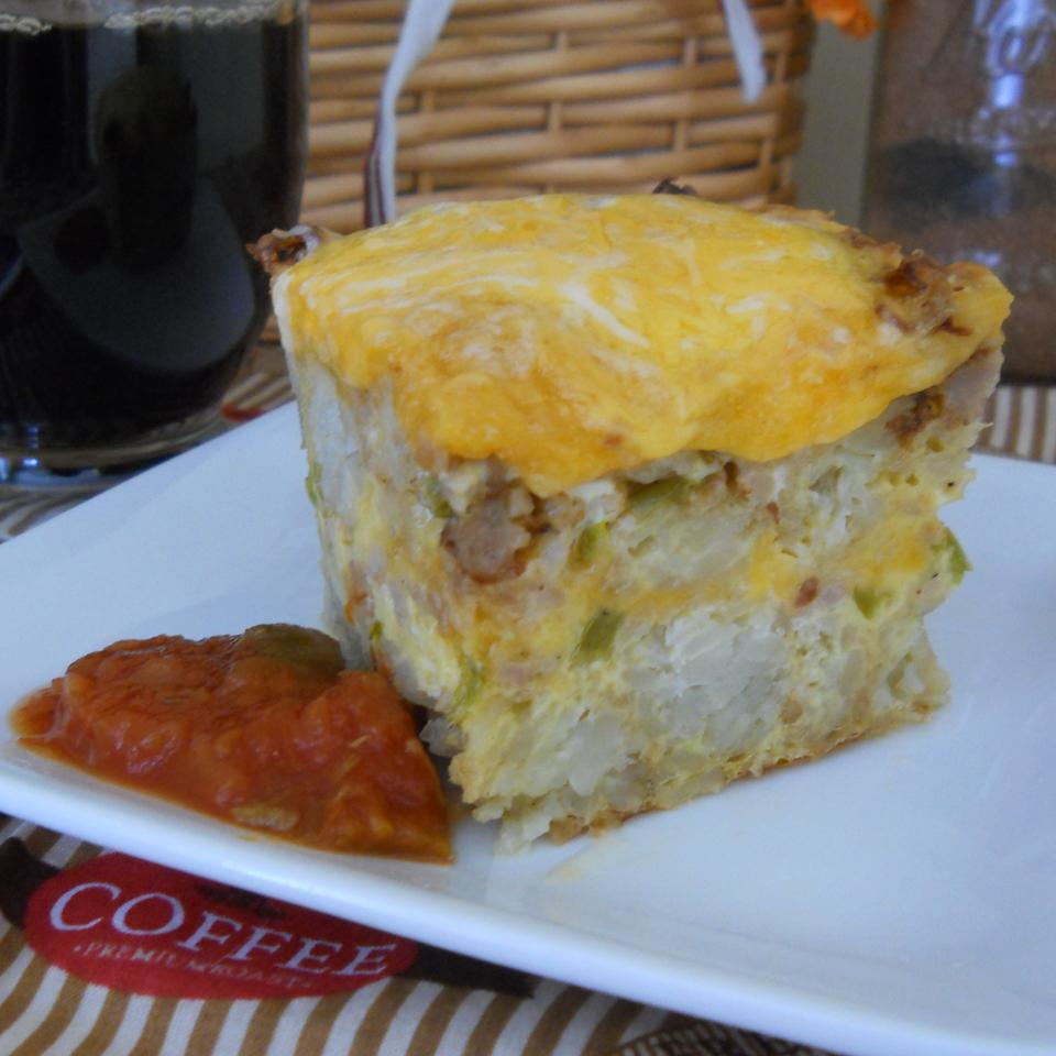 Potato and Cheese Breakfast Casserole