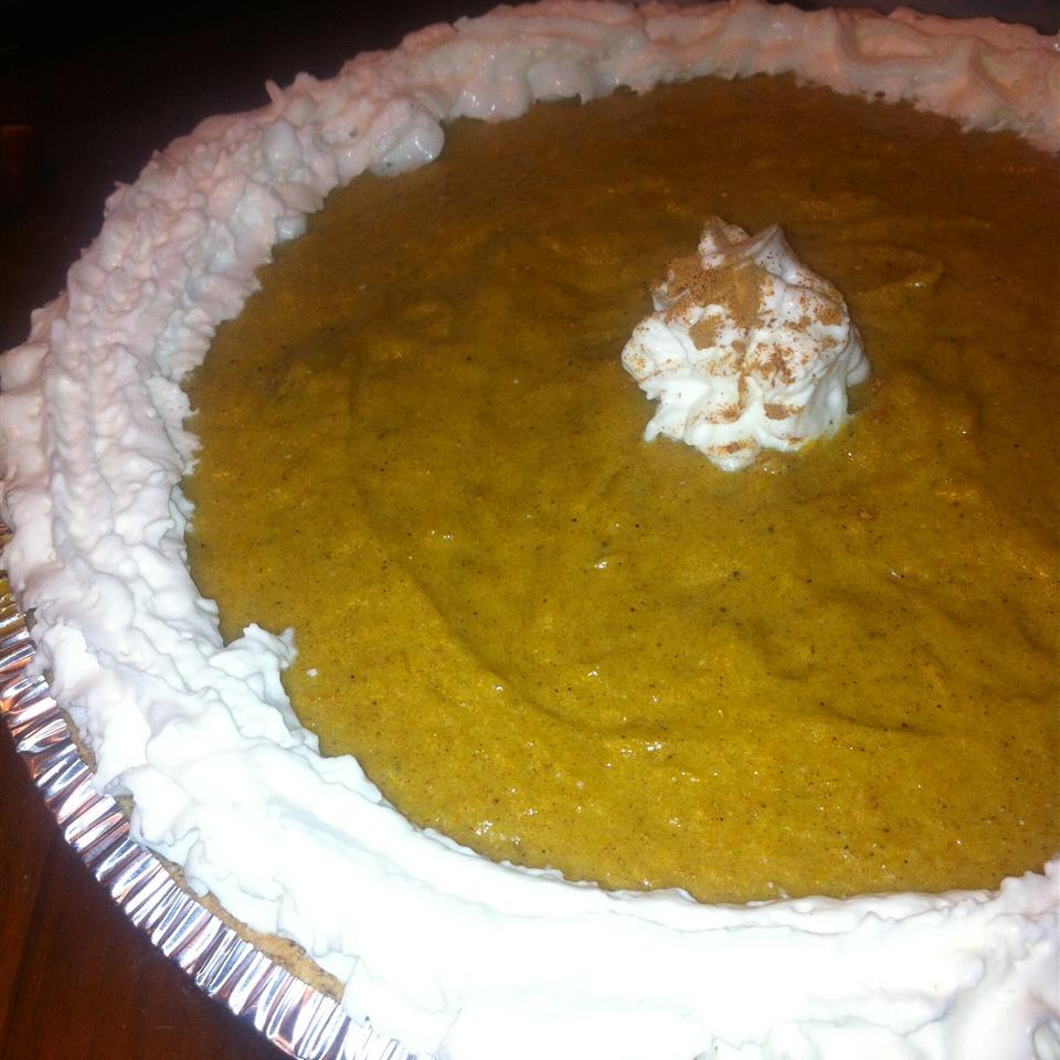 Pumpkin Chiffon Pie mchinbat