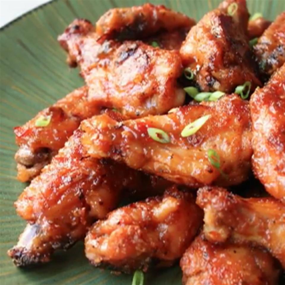 Spicy PBJ Wings