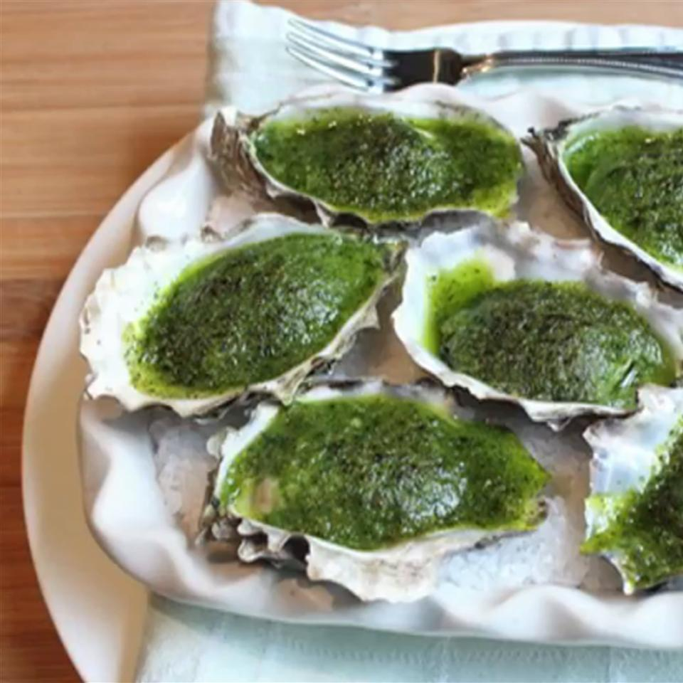 Chef John's Oysters Rockefeller