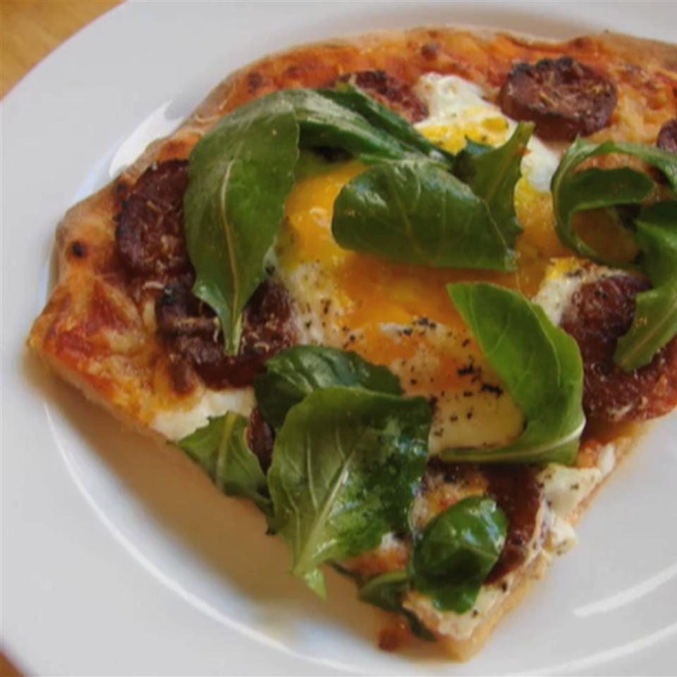 Chef John's Sausage and Egg Pizza