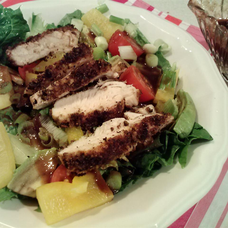 Spinach Salad with Pistachio Chicken Sheila LaLonde