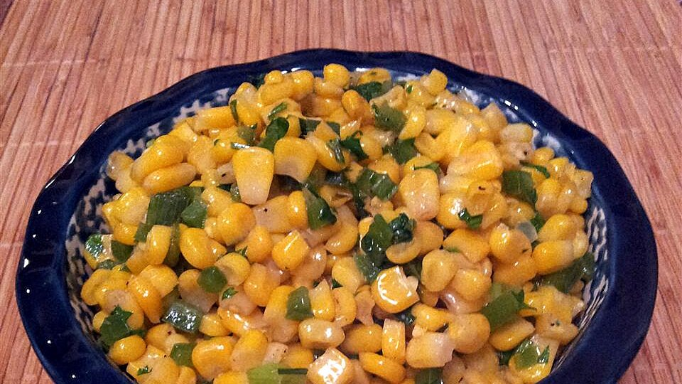 Corn and Jalapenos