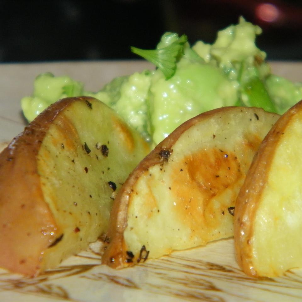 Oven Fried Potatoes II