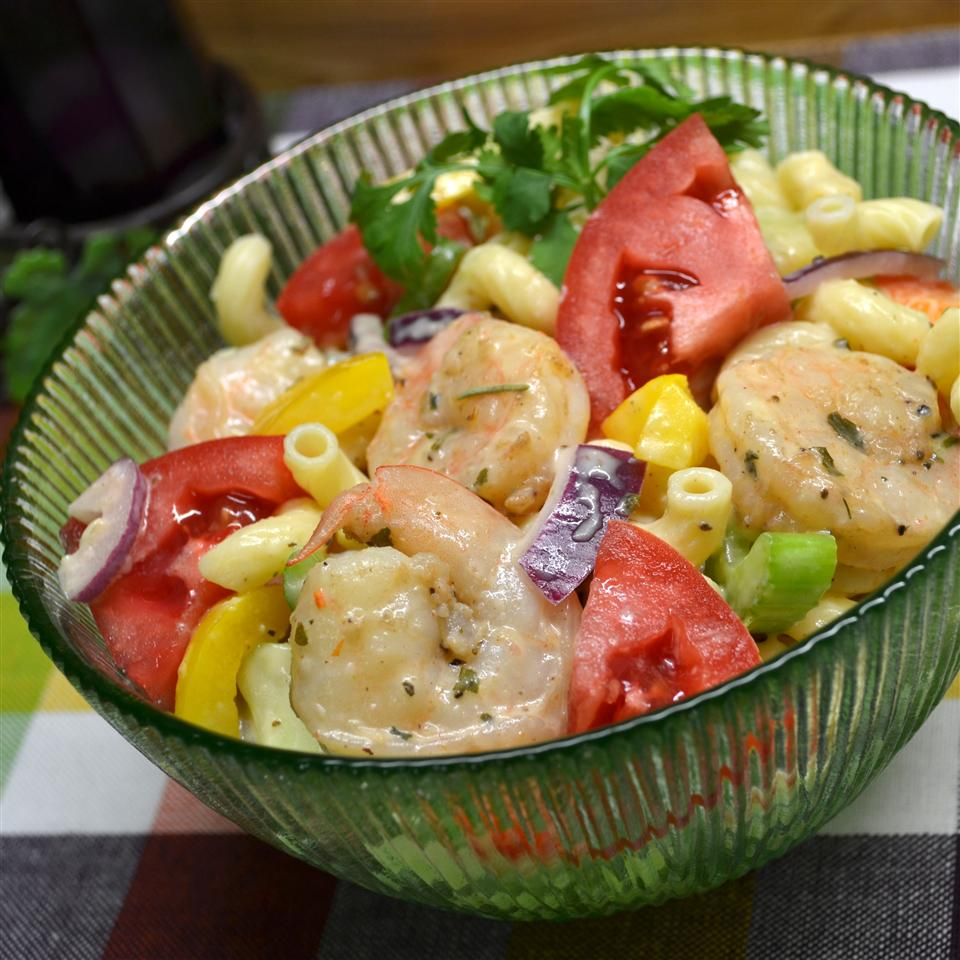 Momma's Pasta and Shrimp Salad