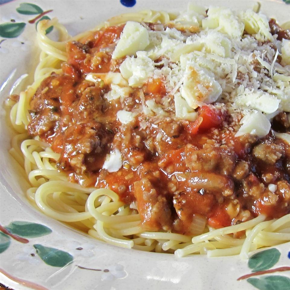 Ground Sausage Spaghetti Deb C