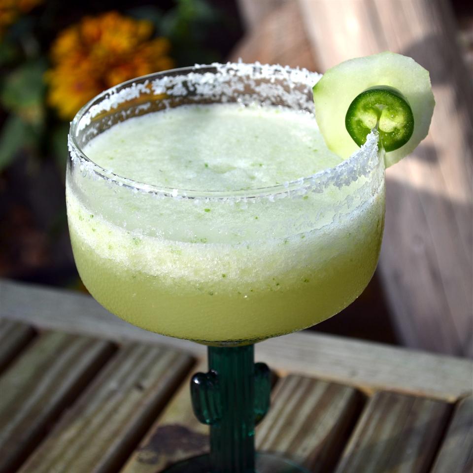Jalapeno and Cucumber Margarita
