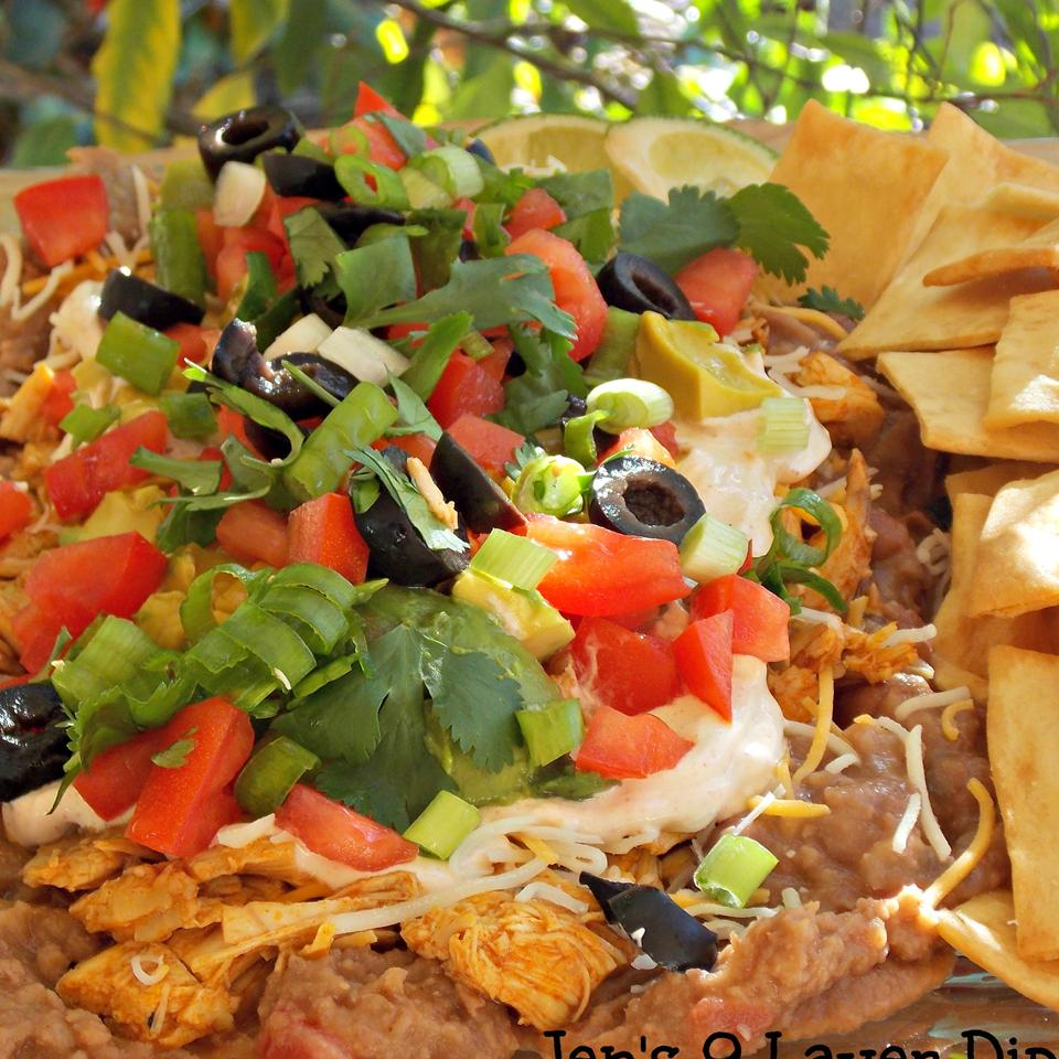 Jen's Nine Layer Dip Baking Nana