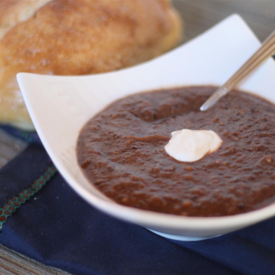Pumpkin Black Bean Soup Billie Hillier