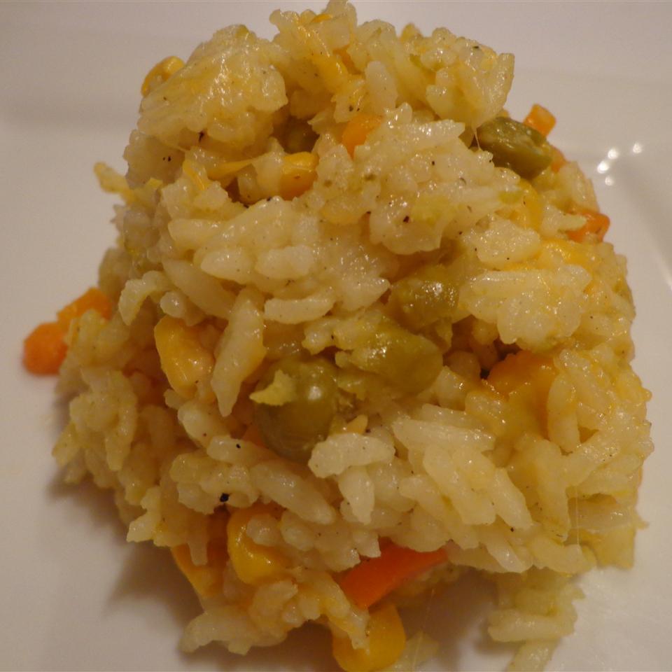 Baked Vegetable Rice Pilaf Linda