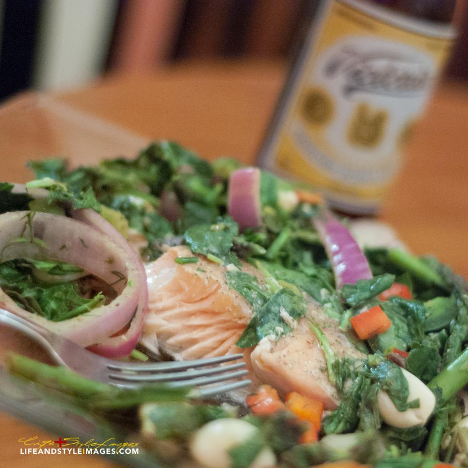 Salmon and Asparagus in a Bag loveiicook