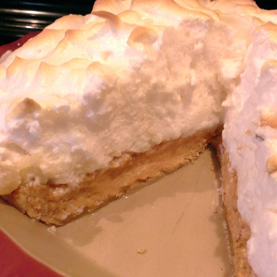 Peanut Butter Meringue Pie RainbowJewels