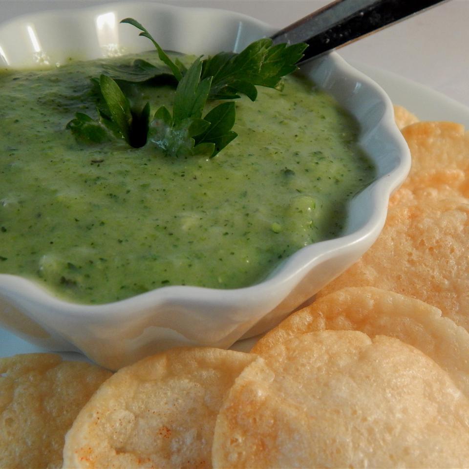 Quick Creamy Zucchini Soup
