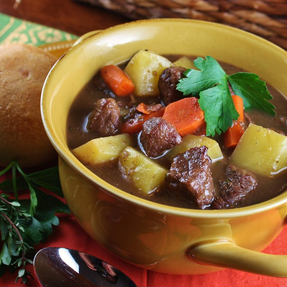 Jennifer's Burgundy Beef Stew