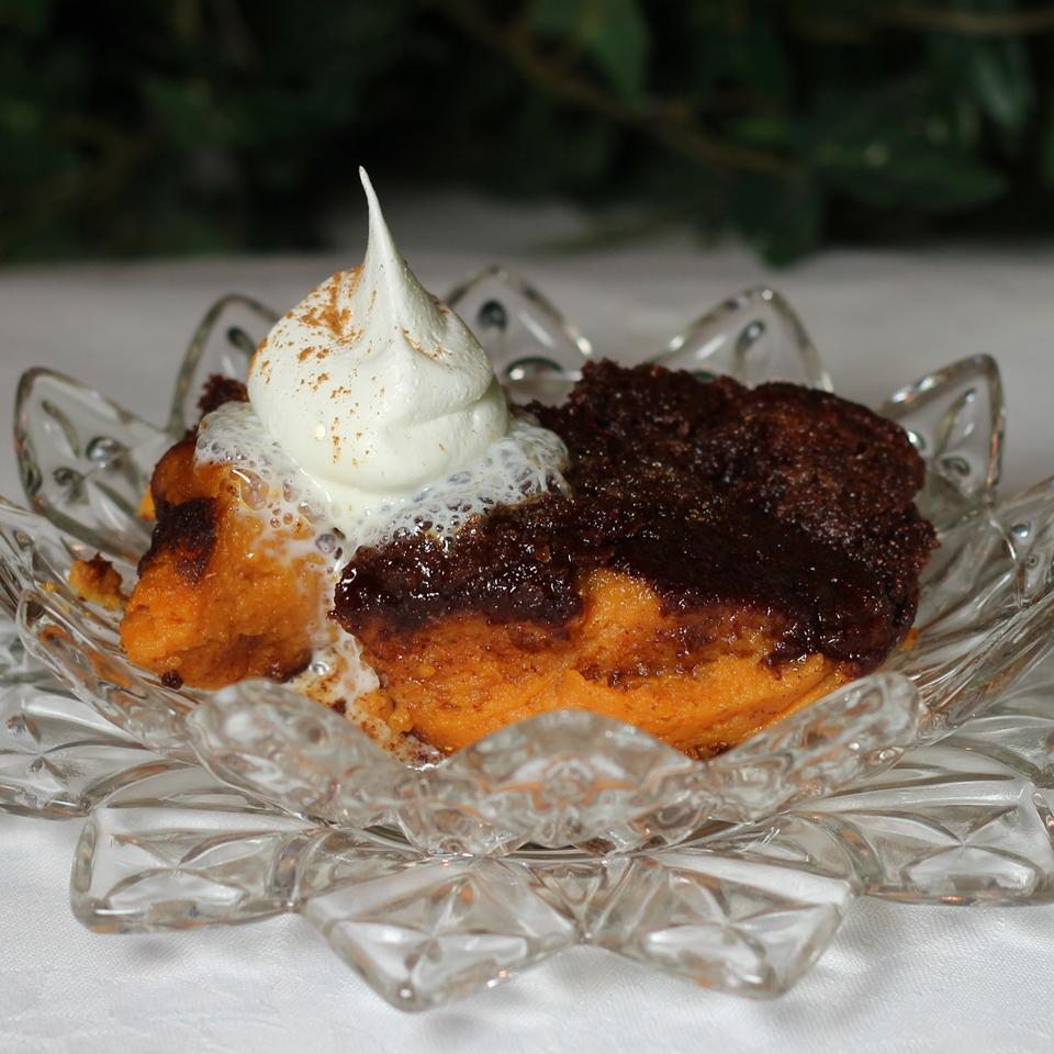 Easy Baked Pumpkin Pudding Paula