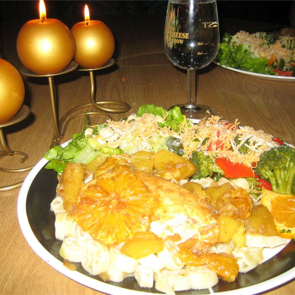 Pineapple Chicken L-Iron Chef